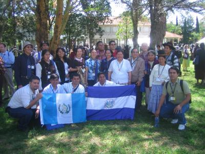 Grupo de Latinoamericanos que asistieron.