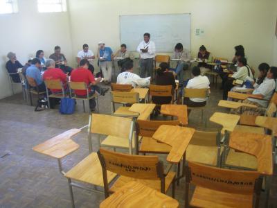 Reunión de Grupos de Trabajo.