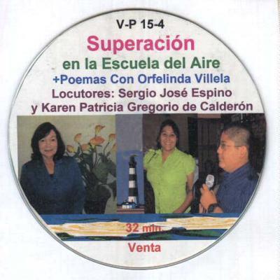 CD Superación 4, Poemas con Orfelinda Villela Cerritos.